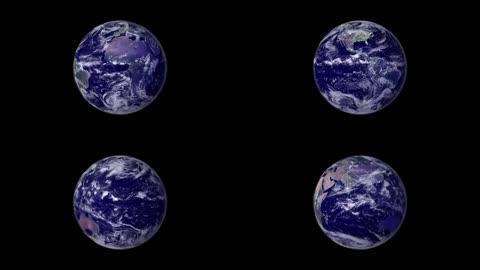4K地球纯净背景(合成)