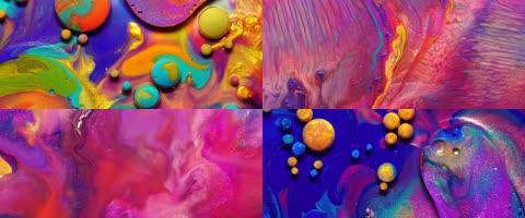 唯美流体色彩艺术