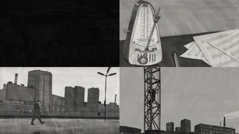 孤独男人动画