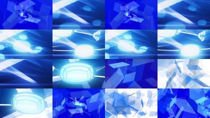 12款科技创意蓝背景