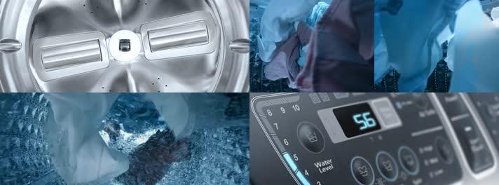 全自动洗衣机广告视频