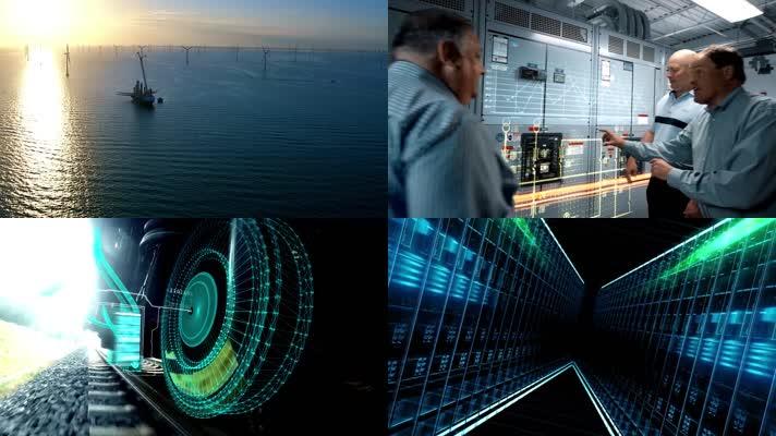 石油化工新能源物联网AI人工智能企业宣传片