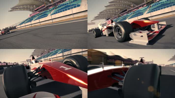 F1赛车动画