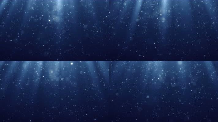 下落的粒子雨【8K】