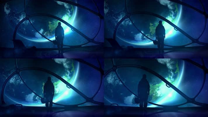 【4K】空间站看地球