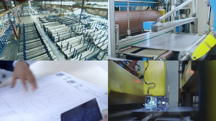 钢板钢管制造加工视频