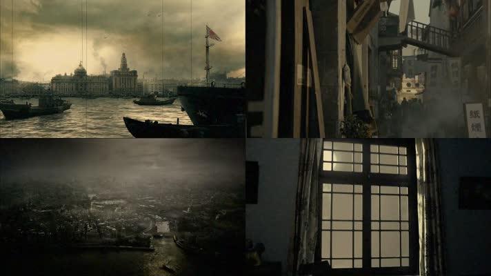 老上海素材-民国上海