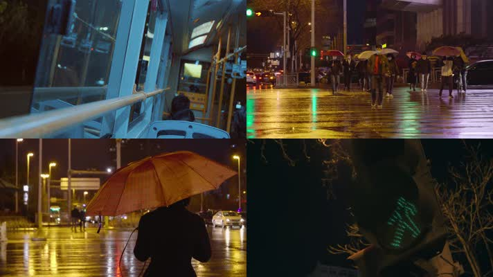 【4k原创】致敬每个在陌生城市奋斗的人们