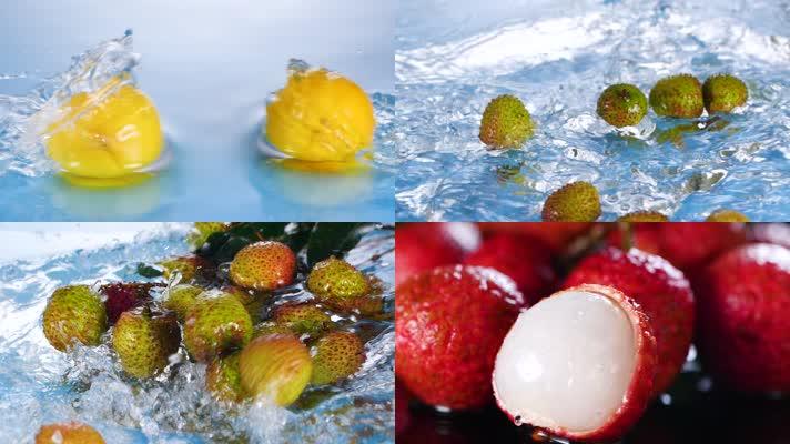 可商用各种夏天水果合集
