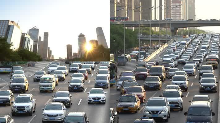 【原创】4k城市车流