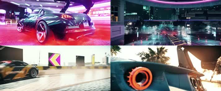 汽车动画,赛车游戏,赛车动画