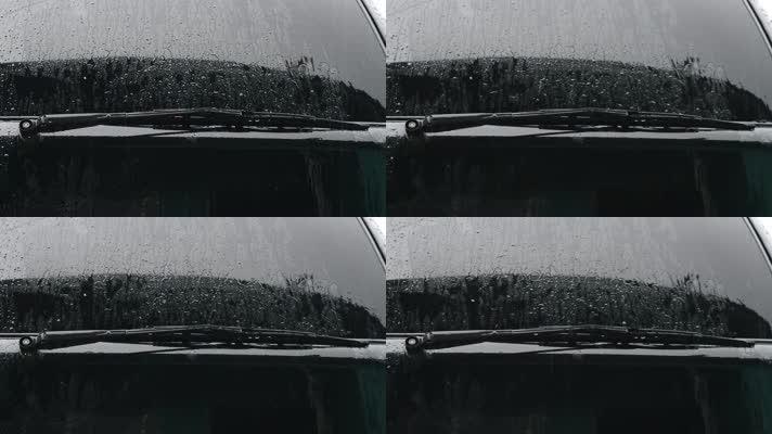 车窗玻璃,下雨阴天
