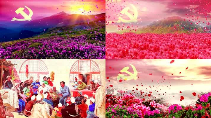 井冈山上杜鹃红