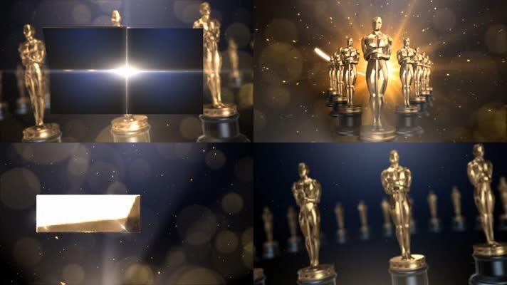 奥斯卡颁奖背景素材包