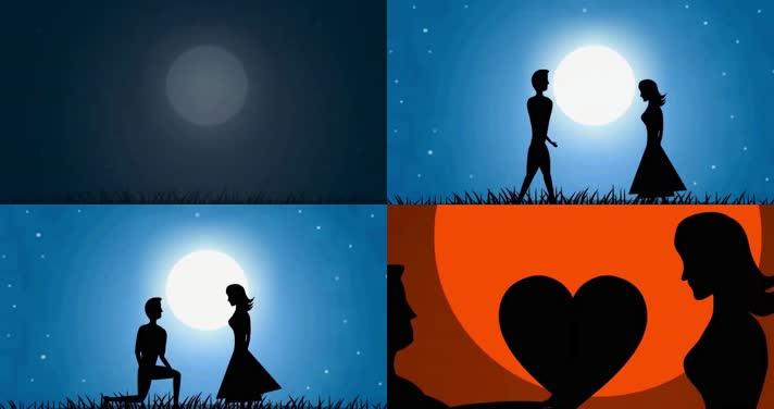 爱情动画,情侣动画,感人感动