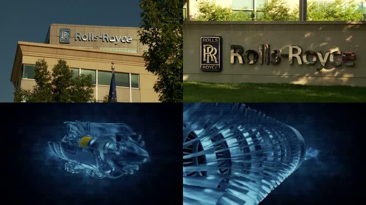 劳斯莱斯 发动机 机械制造厂 现代工业厂