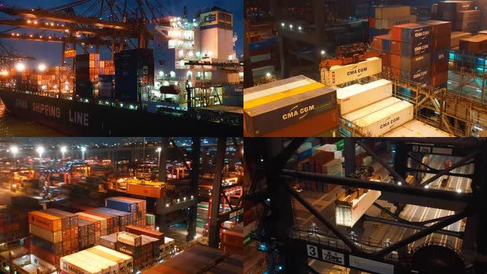港口集装箱物流