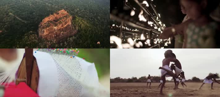 斯里兰卡宣传片,各景点本地人