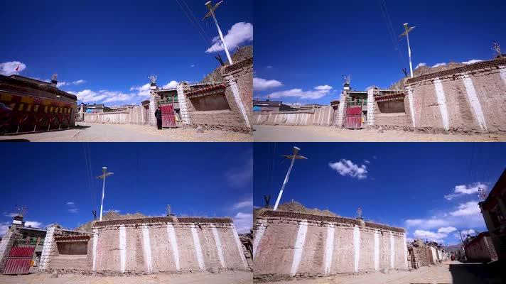 藏区村寨移动延时