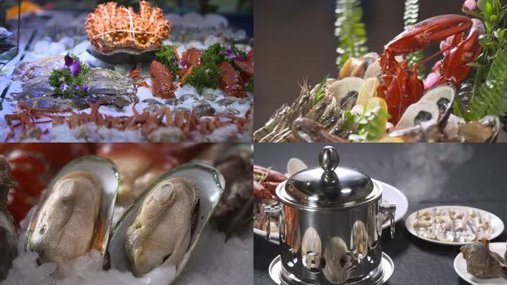 海鲜火锅食材
