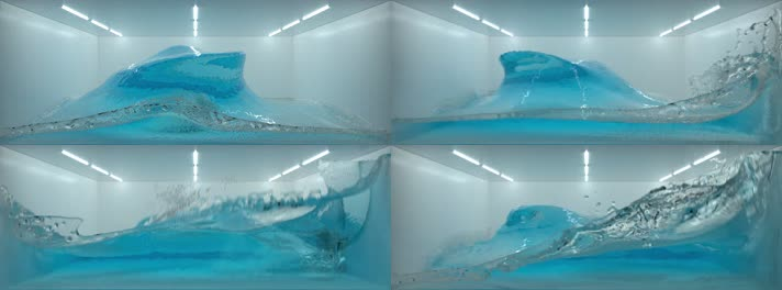 3D水缸特效视频