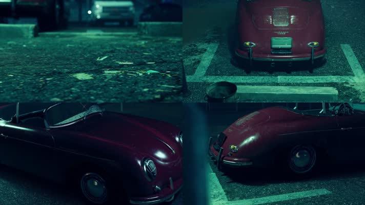 【4K】停车场